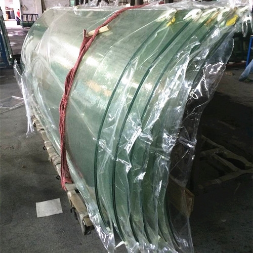 10mm Curved Tempered Glass Cost Custom Security Curved