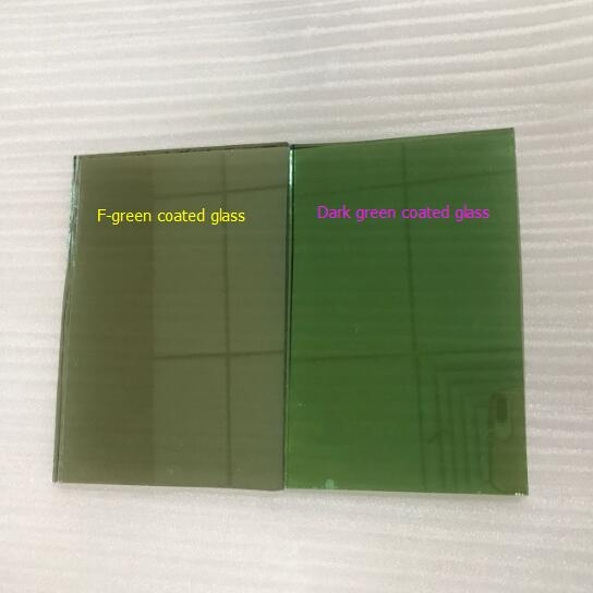 Import 4mm French Green Color Hard Coating Reflective Gl From China Factory