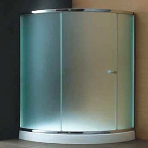 10mm Tempered Frosted Glass For Shower Room 10mm Frosted