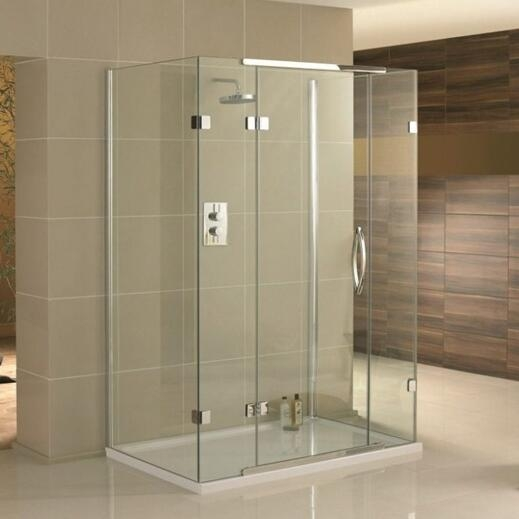 Frameless Glass Shower Door Cost Bathroom Glass Shower